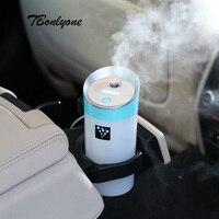 TBonlyone 300ML Car Aromatherapy Humidifier Ultrasonic Air Humidifier Essential Oil Aroma Diffuser Mist Fogger