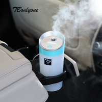 TBonlyone 300ML Car Aromatherapy Humidifier Ultrasonic Air Humidifier Essential Oil Aroma Diffuser Mist Fogger