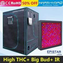 Mars II 1600W LED Grow Light Full Spectrum+1680D 150*150*200cm Hydroponics Indoor Grow Tent of Reflective Mylar
