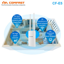 comfast 1200Mbps 48V PoE Outdoor AP CPE 802.11ac Dual Band 2.4G 5.8G with antennas