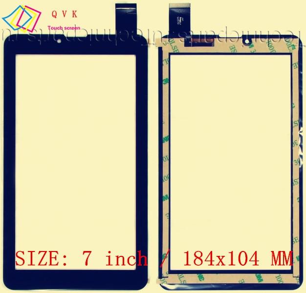 50pcs FM707101KD 7inch for Supra M722G M723G 3G M725G M727G Digma Optima 7.77 3G Tablet touch screen FM707101KE FM707101KC janome fm 725