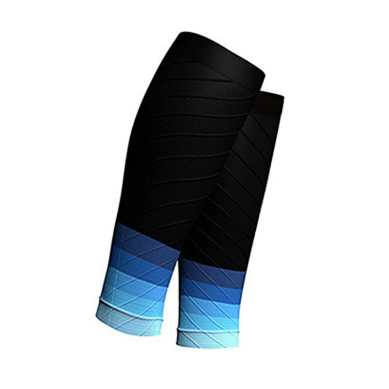 Outdoor sports marathon socks Gradient color trail running Cycling Leg Warmers Football Shin Guard Breathable Calf sleeve
