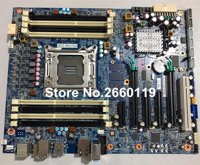 For Z420 618263-001 619557-001 619557-501 workstation motherboard, fully tested new 5 pin 647287 001 original z420 z620 workstation heatsink and fan assembly well tested working three mouths warranty