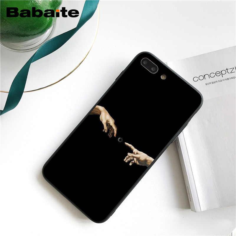 Babaite Vintage yeso estatua de David estética arte teléfono carcasa para iphone 11 Pro 11Pro Max 8 7 6 6S Plus X XS X MAX 5 5S SE XR