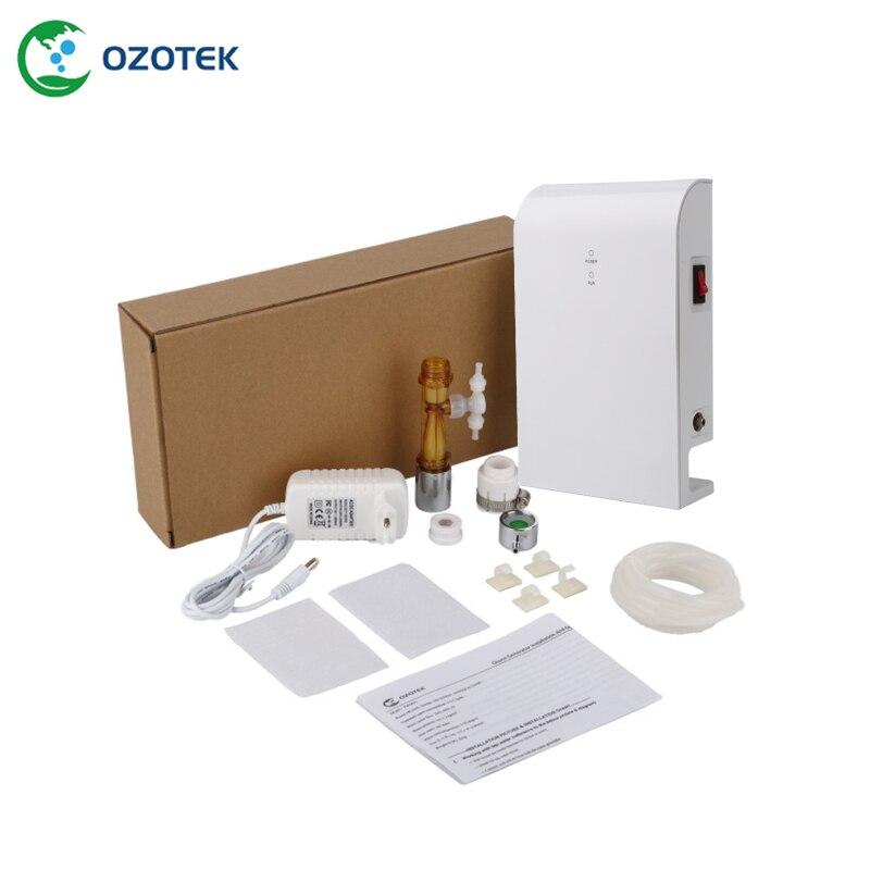 aqua pure water filter ozone generator TWO001 0.2 1.0 PPM for shower & washing machine free shipping - 5
