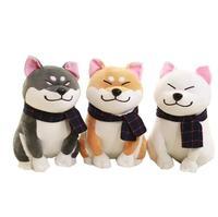 1 צעיף שיבא Inu יח'\סט ללבוש חמוד כלב בפלאש צעצוע רך ממולא כלב צעצוע מתנות חג האהבה טובה עבור חברה