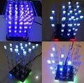1 Шт. Новый 4*4*4 3D LED LightSquared Белый LED Blue Ray LED Cube DIY Kit