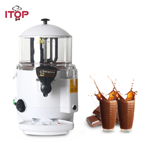 ITOP 5L Commercial Hot Chocolate Dispenser Machine Bath system Beverage Coffee Milktea Mixer 1000W
