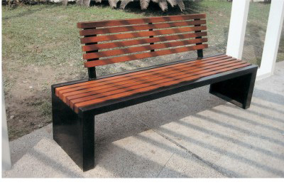 Outdoor Wood Preservative Bench Chair Stainless Steel Benches Seating Mall  Dressing Room Changing His Shoes