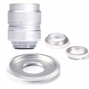 FUJIAN 25mm f/1.4 Miniature SLR Lens for Panasonic Micro 4/3 E-P1 P3 G1 GF5 Macro SILVE free shipping