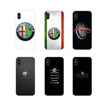 Alfa Romeo accesorios fundas de teléfono cubiertas para Xiaomi Redmi 4A S2 Note 3 3S 4 4X 5 Plus 6 7 6A Pro pocofone F1