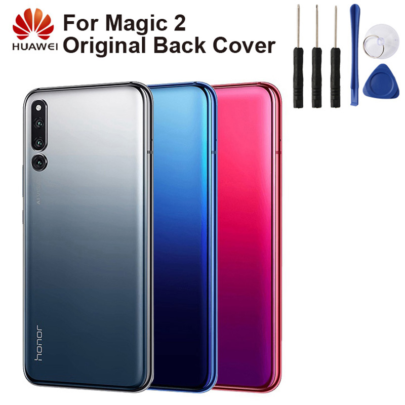 Huawei Original Back Cover Case Battery Housing For Honor Magic2 Magic 2 Rear Glass
