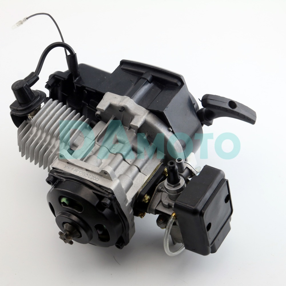 hight resolution of 49cc 2 stroke bicycle gas engine motorized mini bike scooter 6 teeth t8f chain in engines from automobiles motorcycles on aliexpress com alibaba group