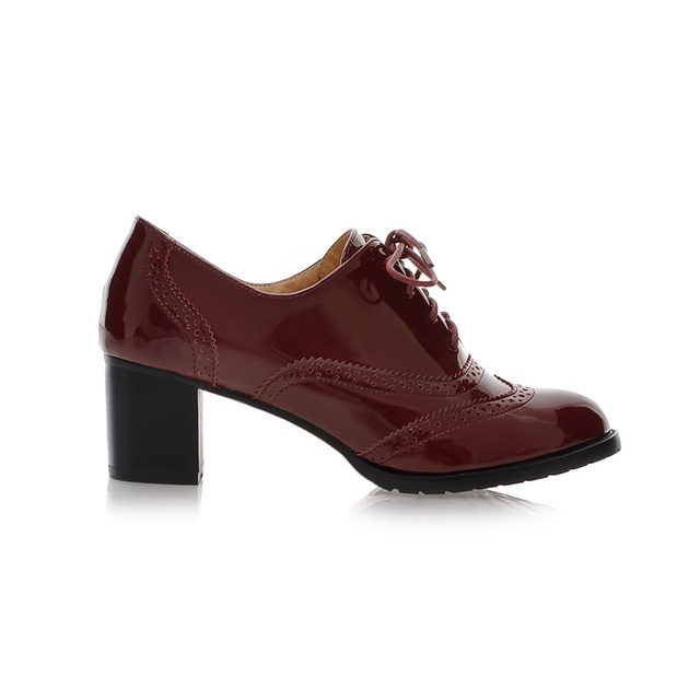 5f8a0b108f ... Ladies Oxfords Shoes Women Spring Women Pumps Shoes Soft PU Leather  Women High Heels Casual Shoes. Previous. Next