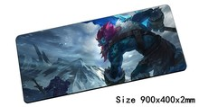 Fashion Trundle mouse pad 90x40cm pad mouse lol notbook computer mousepad Troll King gaming padmouse gamer laptop mouse mats