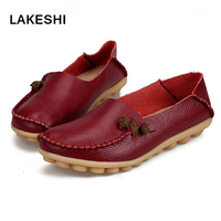 Women Flats Comfortable Moccasins Loafers Wild Women Casual Shoes Classic Driving Woman Shoes