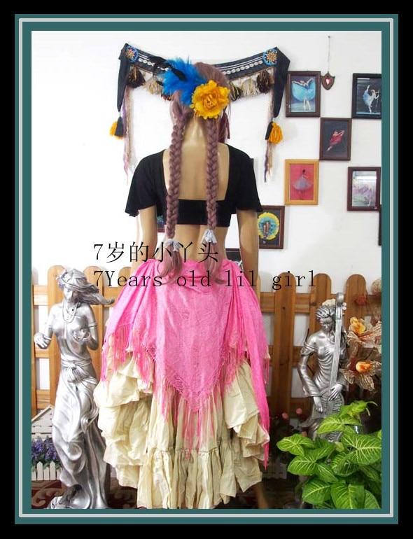Belly Dance Hip Scarf GYPSY Scarf Tribal Belly Dance Scarf Triangle Hip Scarf Weap Belt HS946-956