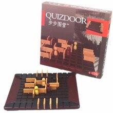 Настольная игра Quoridor игрушка лучший подарок для детей семейные вечерние игры самые популярные деревянные шахматы обучающая игра интерактивная игрушка