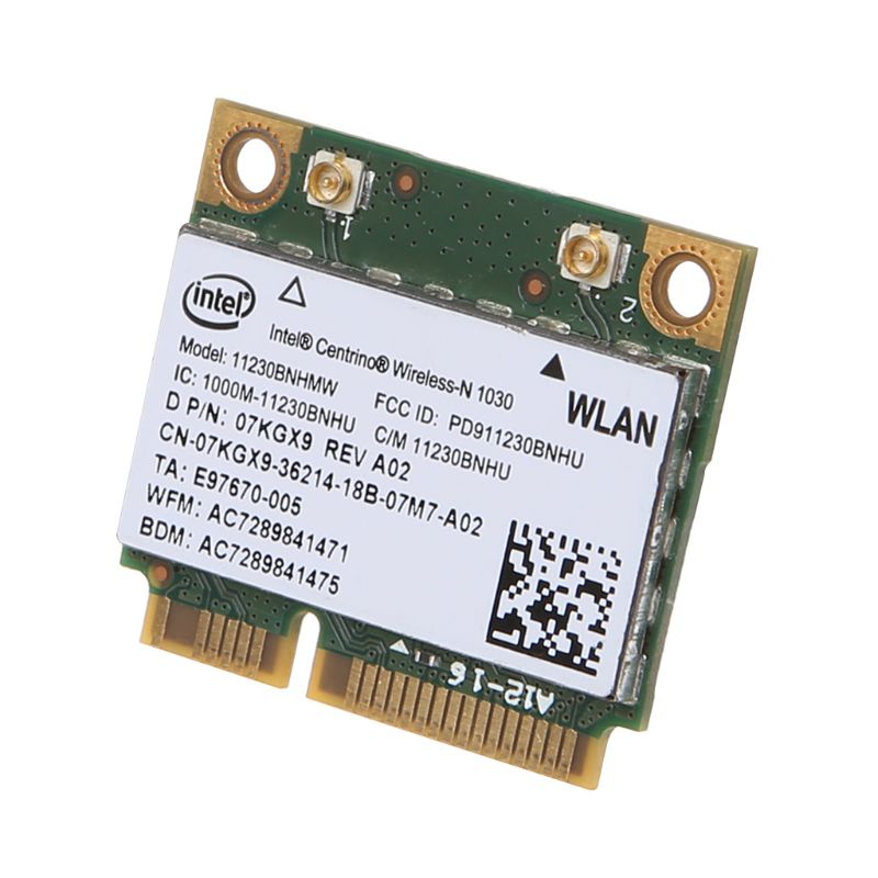 For Intel 1030 11230BNHMW Wireless Card WIFI WLAN Bluetooth Inner Network Card For Dell N4110 N7110 N5110