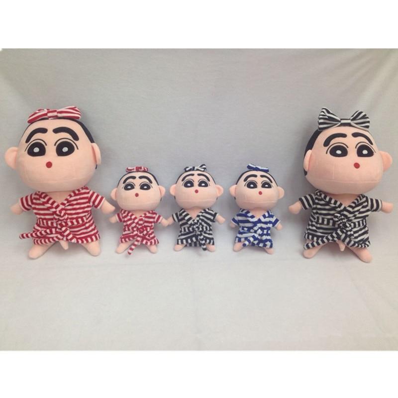ᐂNavidad juguete de regalo crayón Shin Chan relleno Juguetes 12 ...