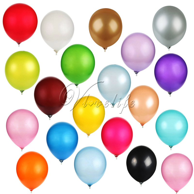 Contemplative 10pcs Latex Balloon 12 3.2g Pearl Balloons Wedding Birthday Christmas Party Decoration Party Balloon Toys Many Colors Choose Festive & Party Supplies