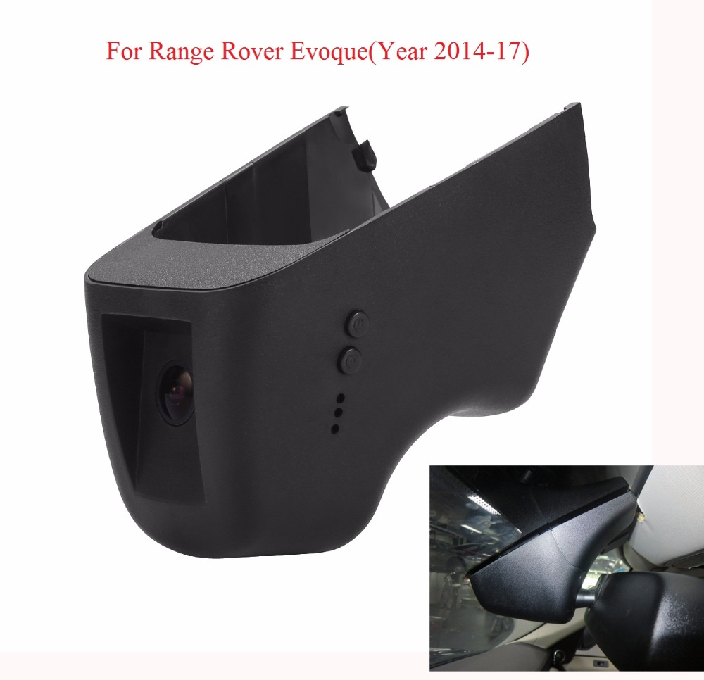 WI-FI Камера S для Range Rover Evoque (год 2014-17) ночь Версия Видеорегистраторы для автомобилей Камера видео Регистраторы Путешествия автомобиля черный ...