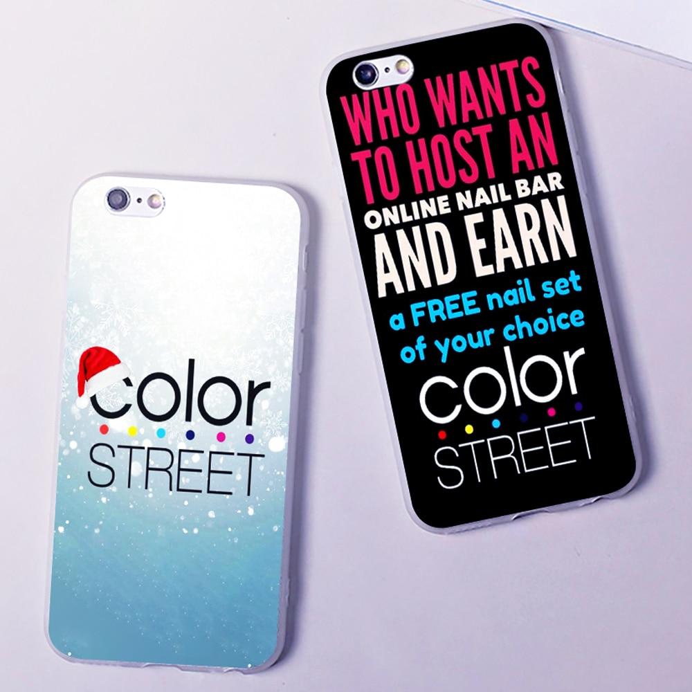 Good Price For Color Street Unique Logo Hard Fashion Phone Case