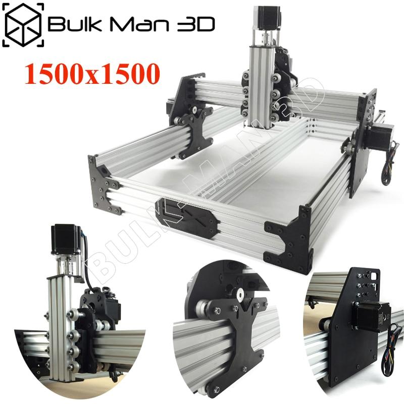 OX CNC Router Kit 1 5 1 5M 4Axis Woodworking Milling Machine Desktop DIY Belt Driven
