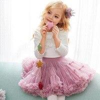 Fashion Baby Girls Multilayer Tulle Dance Skirt Toddler Girl Skirts Tutu Baby Skirt Novelty Mesh Skirt falda nina