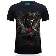 Vikings Skull Printed T-shirts