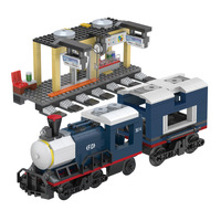 545PCS Train compatible legoINGly Train City Rail Building Blocks Bricks Boys Toys For kid legoing tech over 6 years