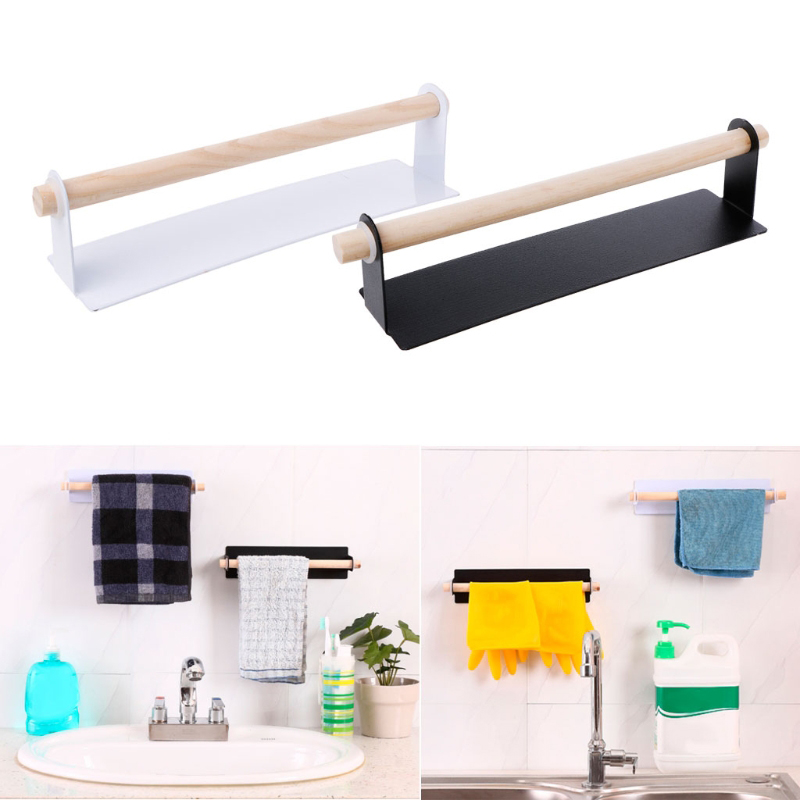 Bathroom Toilet Paper Holder Towel Rack Wall Mount Suction Self-adhesive Toothbrush Holder Mug Cup Organizer Hangers Stand