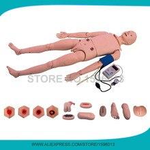 Full-Braço de Treinamento Manequim Enfermagem funcional Com a BP, Adulto Manequim De Enfermagem, Trauma Cuidados Modelo