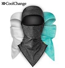 CoolChange Ice Fabric Fishing Sports Hat Scarf Bicycle Cap Anti-UV Sunshade Bike Face Mask Headwear Cycling Bandana