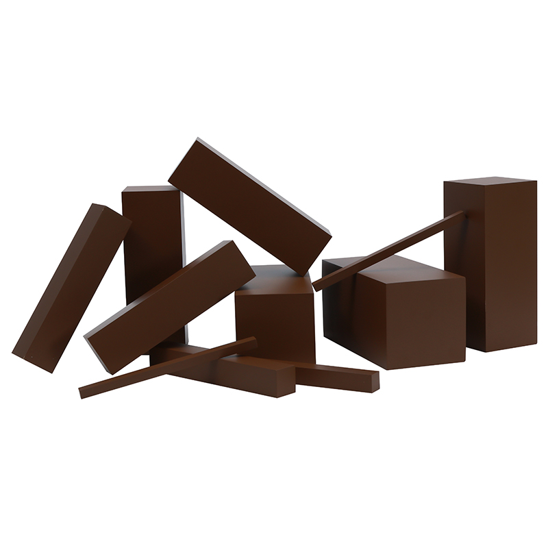 Montessori brun escaliers bébé jouet éducation de la petite enfance enfants d'âge préscolaire Brinquedos Juguetes - 2