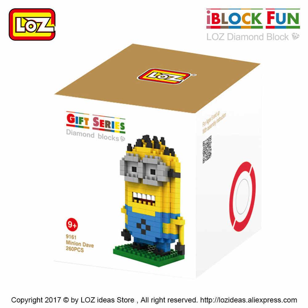 LOZ Diamond Blocks Fat Little Yellow People Children Toy Brick Pixel Figures Doll Model Toy DIY Mini Figurine Doll Figurine 9161