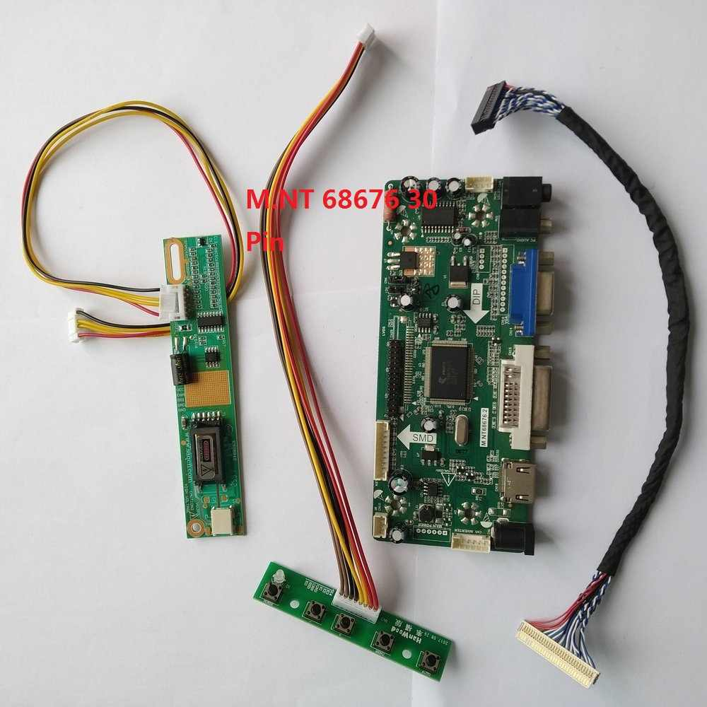 "Kit Voor HSD150PX14 A00 Controller Board 1 Lampen Lvds Vga Signaal 15 ""1024X768 Display Screen Driver 30pin Dvi hdmi"