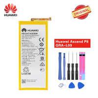 Hua Wei Original Battery HB3447A9EBW for Huawei Ascend P8 GRA-L09 GRA-UL00 GRA-UL10 2600mAh Li-ion with Tools Set