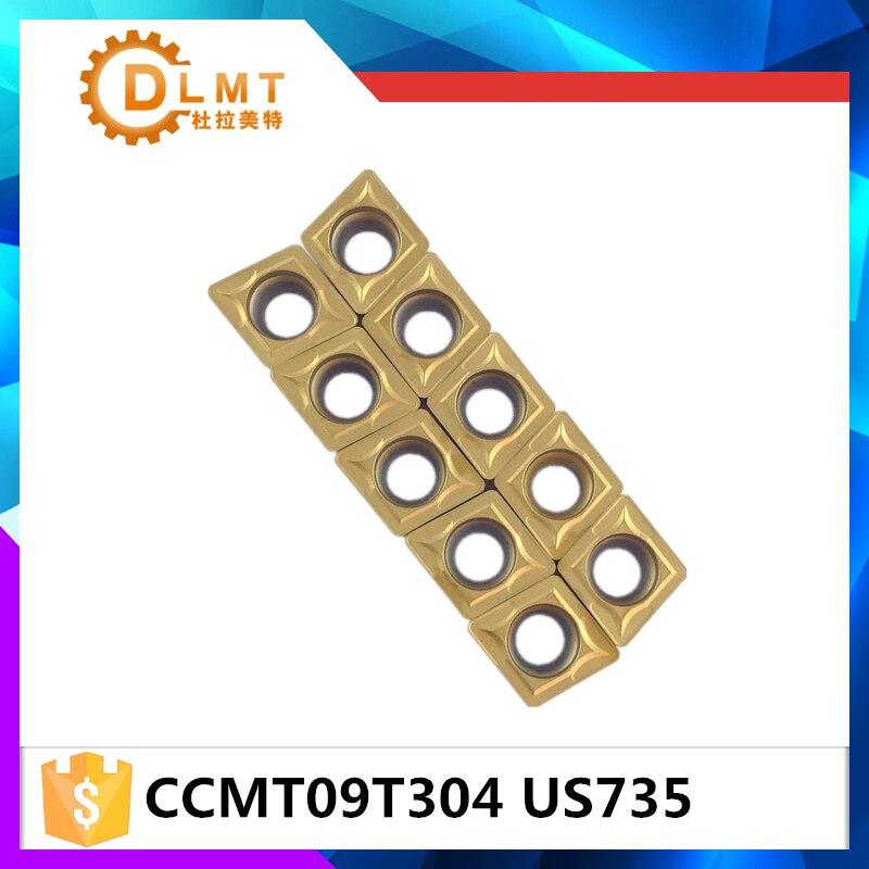 20tk / komplekt DFUTE CCMT09T304 US735 Karbiidi freesimine ja - Tööpingid ja tarvikud - Foto 4