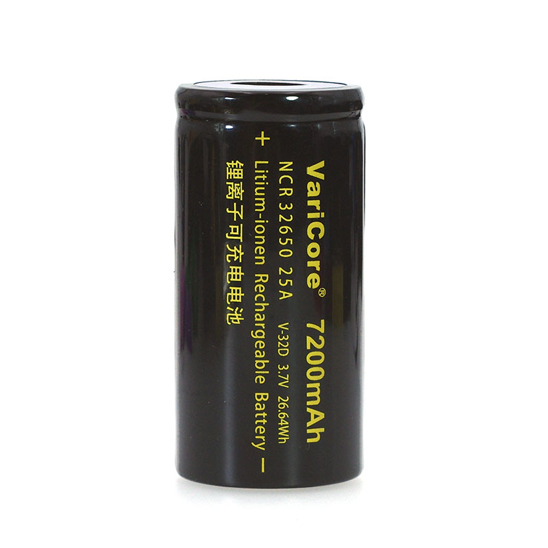 Image 3 - VariCore 3.7V 32650 7200mAh Li ion Rechargeable Battery 20A 25A Continuous Discharge Maximum 32A High power battery-in Replacement Batteries from Consumer Electronics