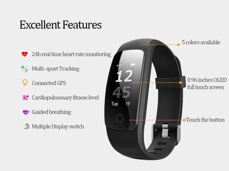 Makibes ID107 Plus HR Smart fitness bracelet (2)