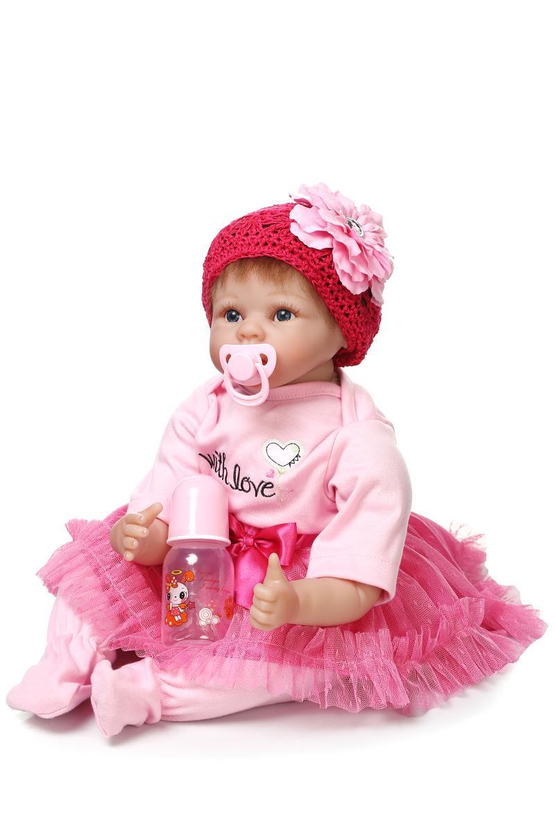 NPK brand reborn dolls toys for baby child gift 2255cm soft silicone reborn baby dolls real alive princess BJD bonecaNPK brand reborn dolls toys for baby child gift 2255cm soft silicone reborn baby dolls real alive princess BJD boneca