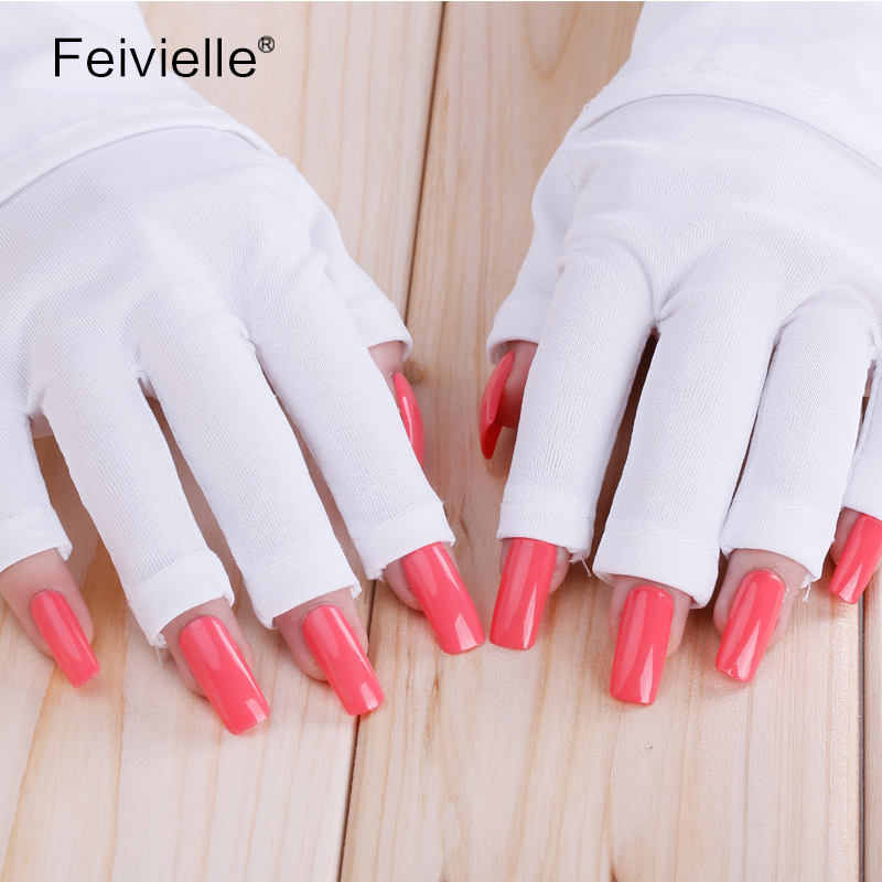 Schönheit & Gesundheit 1 Paar Uv Schutz Handschuhe Therapie Fingerlose Maniküre Nagel Trockner Werkzeuge 2019 Offiziell