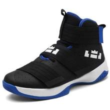 cde5257dedb 2018 New Women Zapatillas Blue Men Sneakers Breathable Outdoor Sport Shoes  Men Ankle Boots Lebron Basketball Shoes Foamposite