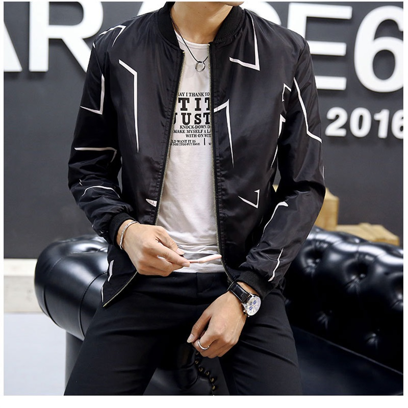 Autumn New Men 39 s Bomber Thin Section Zipper Jacket Mens Casual Streetwear Hip Hop Slim Fit Pilot Coat Men Clothing Plus Size 4XL in Jackets from Men 39 s Clothing