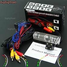 BigBigRoad Auto Intelligente Pista Dinamica Rear View Camera di Backup telecamera di Parcheggio Per Toyota Ractis/Verso-S/Spazio Verso