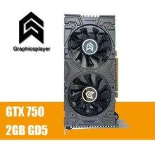 100% Оригинальные Графика карты GTX 750 2048 МБ/2 ГБ 128bit GDDR5 пласа-де-video Carte graphique видео карты для NVIDIA GeForce PC VGA
