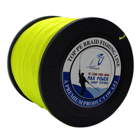 AZJ Hot Sale! Japan PE Multifilament Braided Fishing Line 1000M 4 Strands Rope Carp Fishing Spearfishing Cord Iinhas De Pesca