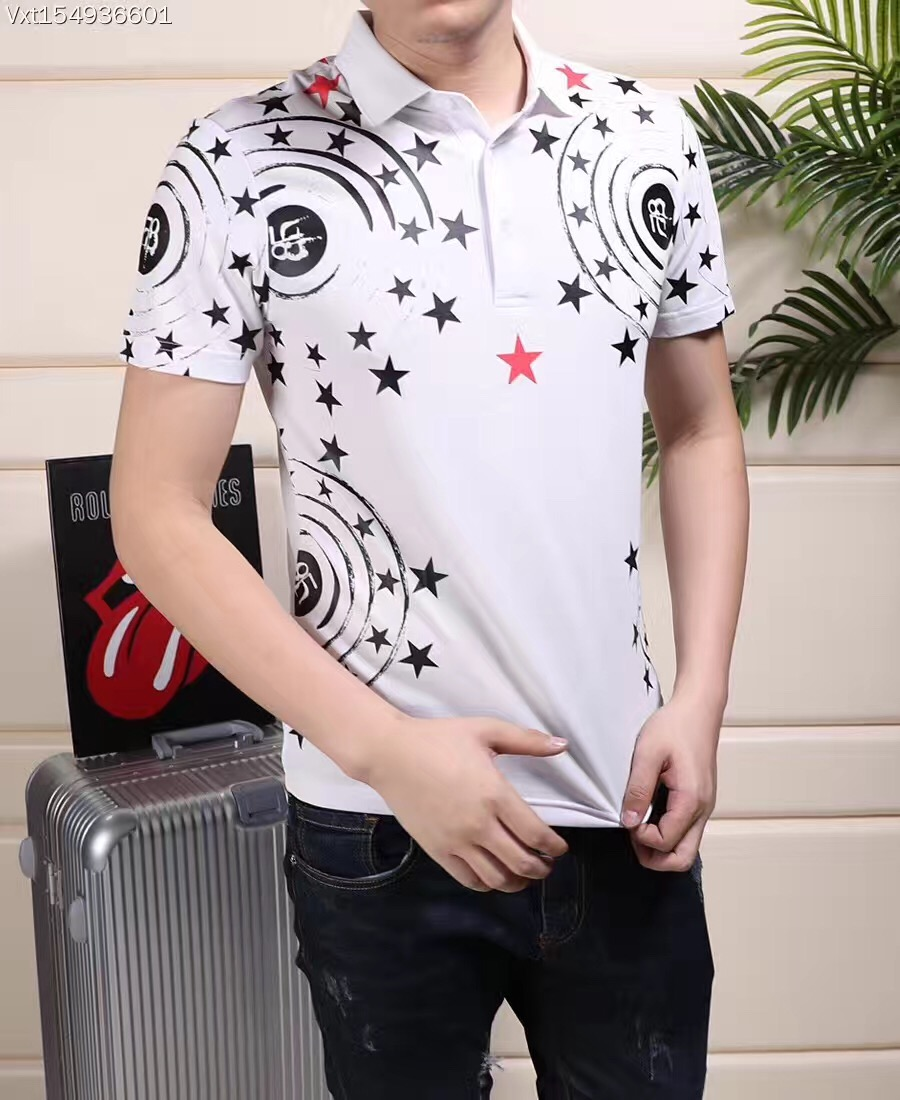 2015 new real camisa solid polo shirt mens fashion cool design short - B0591 Fashion Men S Tops Tees 2017 Summer Hot Sale Fashion Design Short Party Style Polo Shirts Men S Clothing