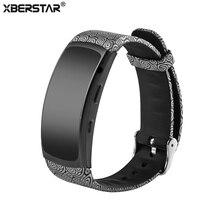 Mode Sport Bracelet En Silicone Dragonne Pour Samsung Gear Fit 2 SM-R360 Smartwatch GPS Activité Fitness Tracker